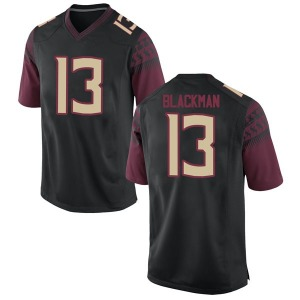 James Blackman Nike Florida State Seminoles Youth Game Football College Jersey - Black