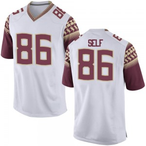 Parker Self Nike Florida State Seminoles Youth Replica Football College Jersey - White