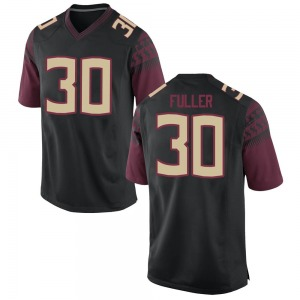 Quashon Fuller Nike Florida State Seminoles Men's Game Football College Jersey - Black