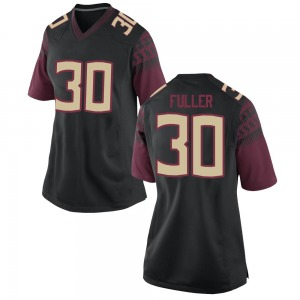 Quashon Fuller Nike Florida State Seminoles Women's Replica Football College Jersey - Black