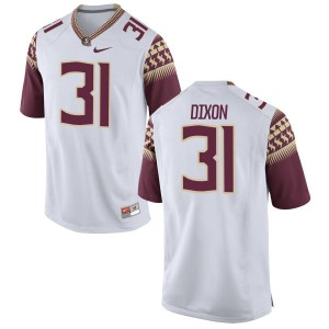 Kris Dixon Nike Florida State Seminoles Men's Limited Football Jersey  -  White