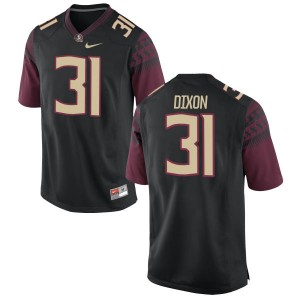 Kris Dixon Nike Florida State Seminoles Women's Authentic Football Jersey  -  Black